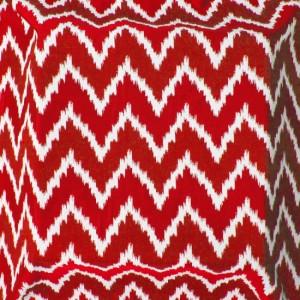 Material tapiterie model zig zag Santorini Rojo