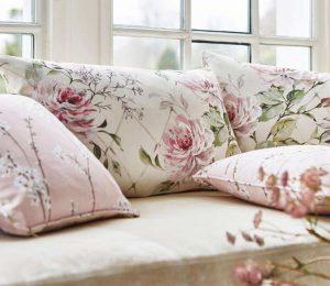 textile cu flori