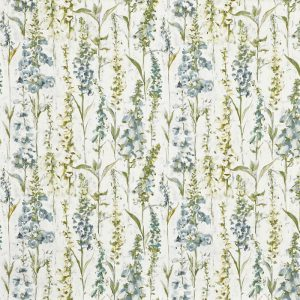 draperii florale verde salvie