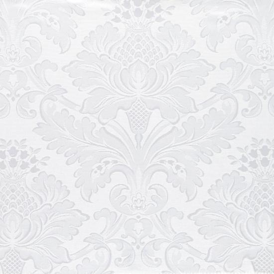 Draperii cu model clasic Alboran Blanco