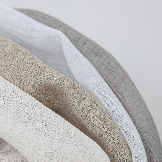 Perdele semitransparente Bernia Blanco