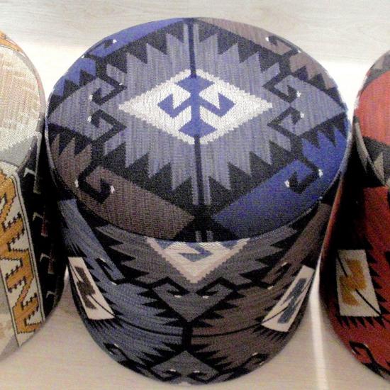 Material tapiterie cu motive etnice traditionale Tabriz Azul