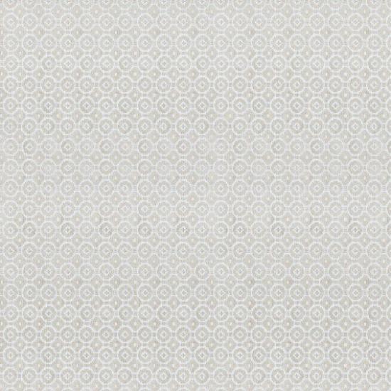 Material tapiterie din in brodat Fez Beige
