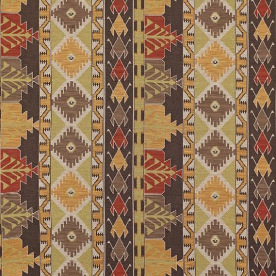 Material textil pentru tapiterie cu motive etnice Izmit Granate