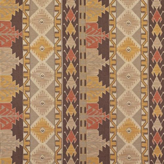 Material textil pentru tapiterie cu motive etnice Izmit Salmon