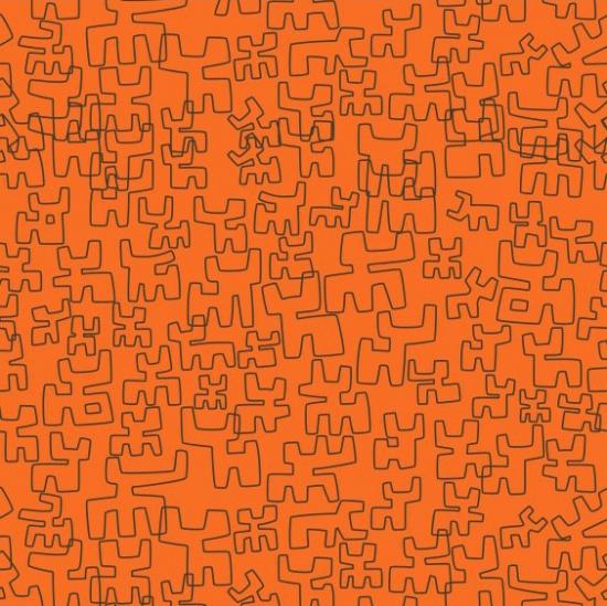 Tapet model abstract Toritos Calabaza