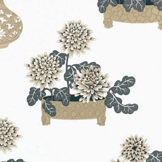 Tapet cu model floral