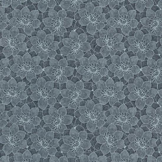 Tapet floral Babel Plata