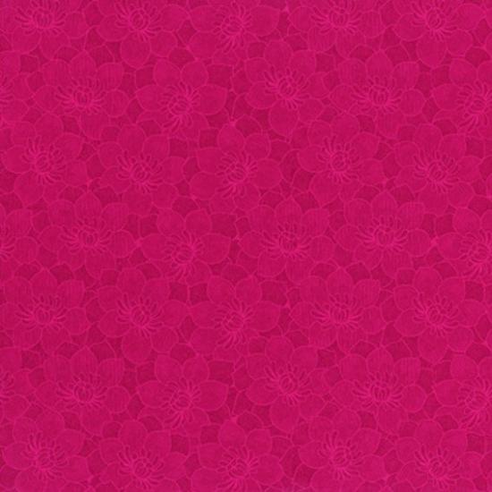 Tapet floral Babel Rojo