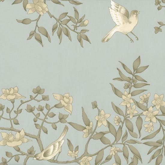Tapet cu model floral Vivace Jade