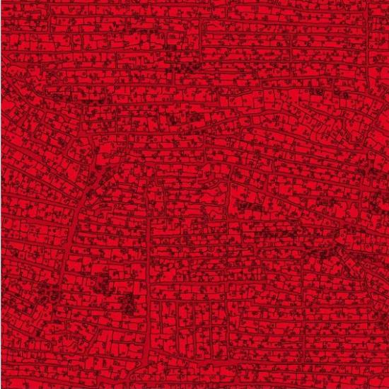 Tapet modern Ulaan Rojo