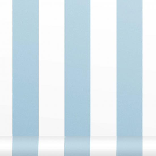 Tapet cu dungi verticale Siro Azul