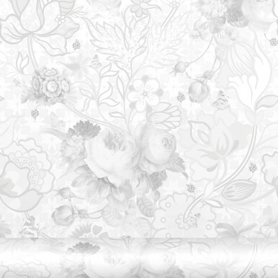 Tapet floral Berenice Perla
