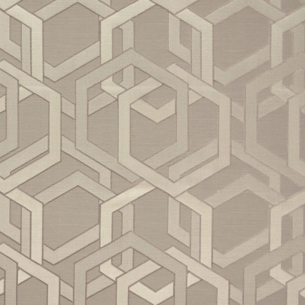 Draperii cu model geometric Katrina Burnished