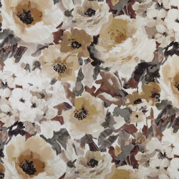 Draperii cu flori Lucido Umber