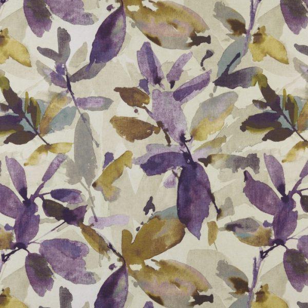 Draperii florale Azzuro Orchid