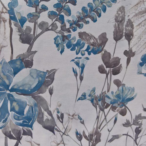 Draperii din bumbac cu model floral Melissa 02