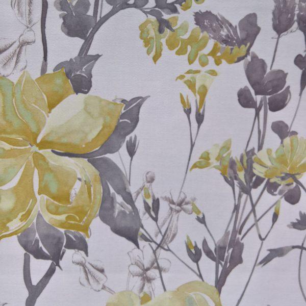 Draperii din bumbac cu model floral Melissa 04