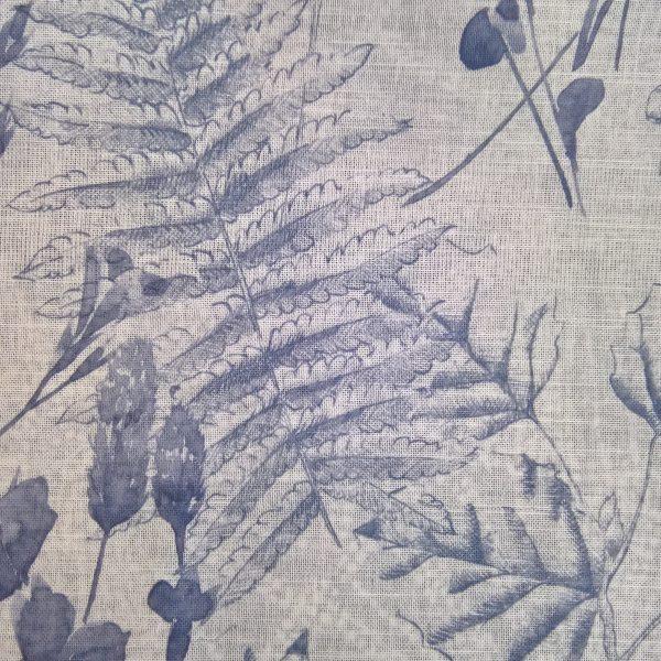Perdele din bumbac cu model floral Rowan 01