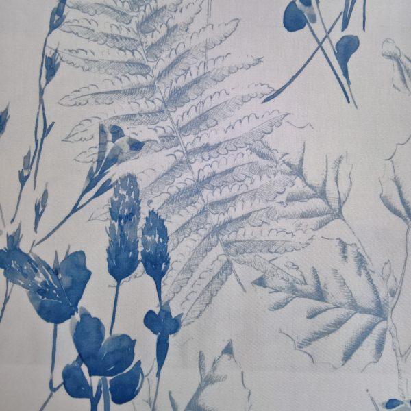 Draperii din bumbac cu model floral Evan 02