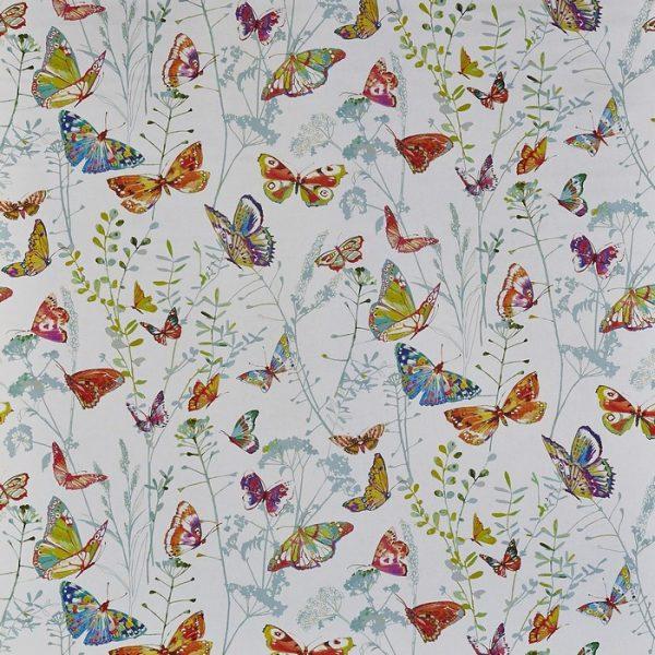 Draperii cu flori si fluturi Admiral Spring
