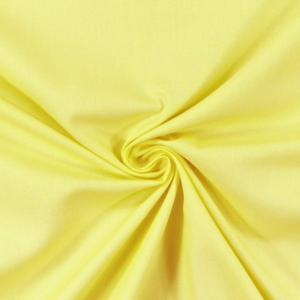 Draperii din bumbac 100% Panama Lemon