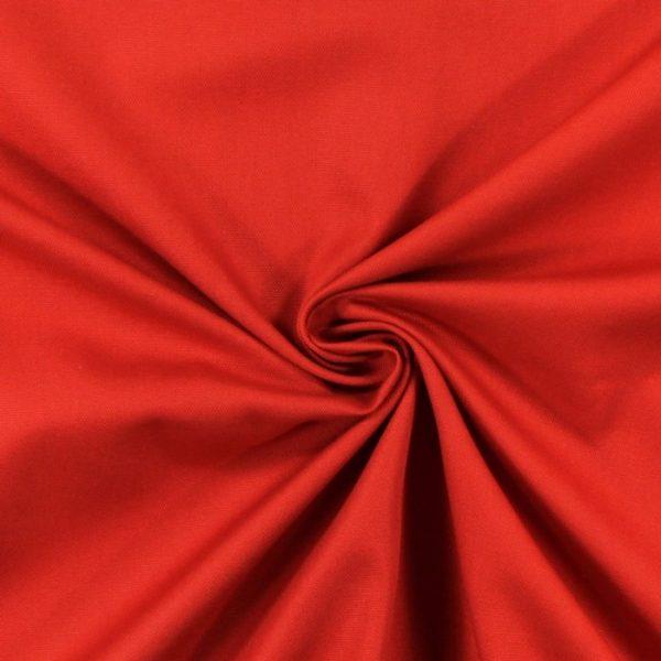 Draperii din bumbac 100% Panama Red