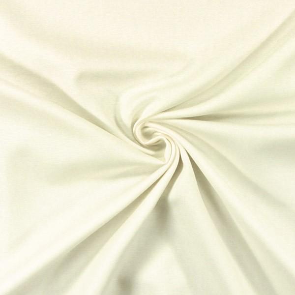 Draperii din bumbac 100% Panama White