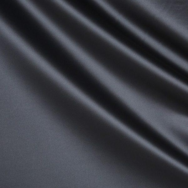 Draperii din bumbac satinat Chic Charcoal