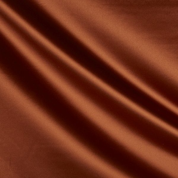 Draperii din bumbac satinat Chic Cinnamon