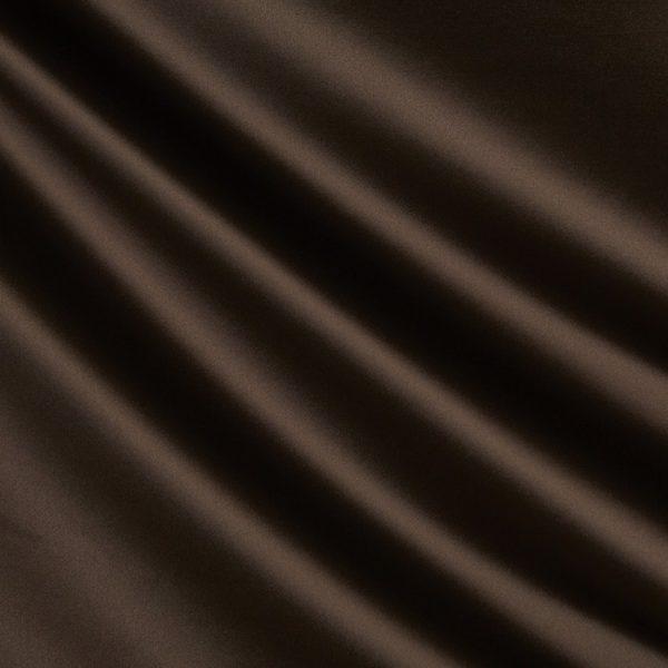 Draperii din bumbac satinat Chic Mahogany