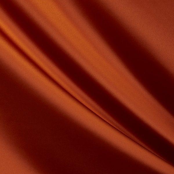 Draperii din bumbac satinat Chic Tangerine