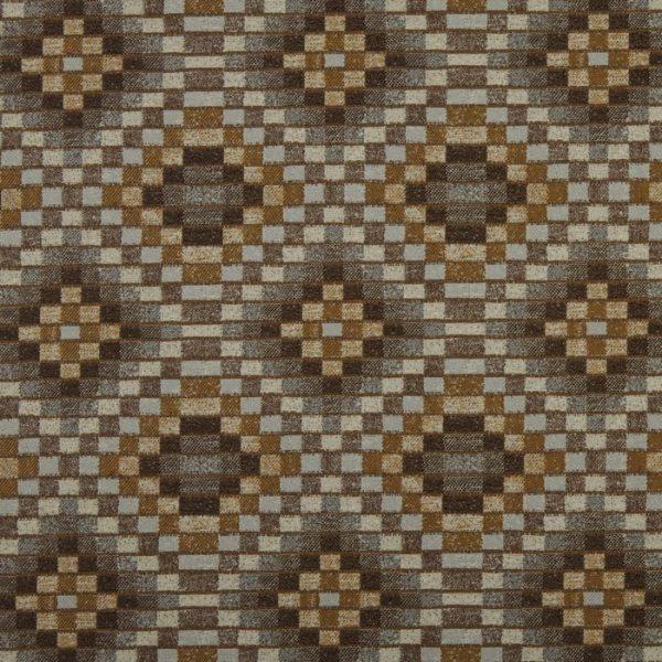 Material cu motive geometrice Piccola Umber