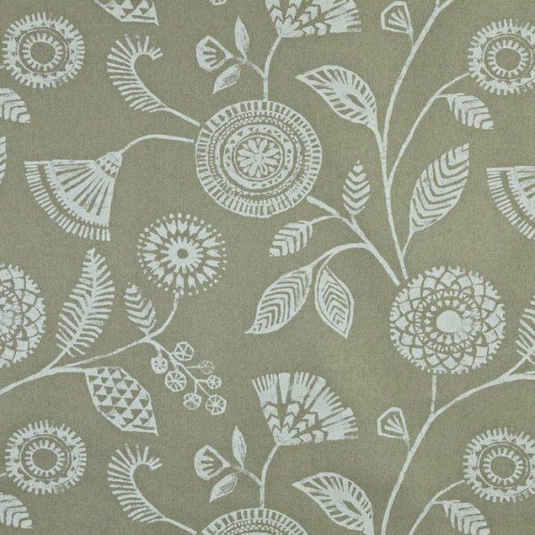 Draperii din in cu imprimeu floral Ecuador Linen