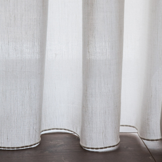 Perdele texturate Orestes Blanco