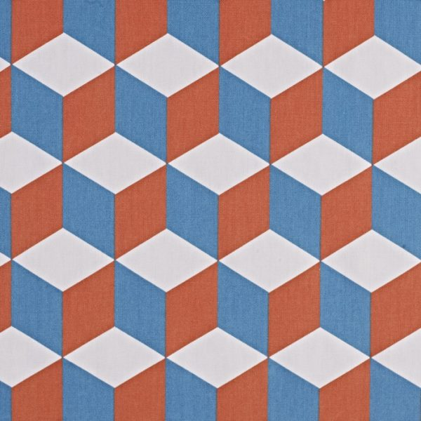 Draperii Cube Tangerine