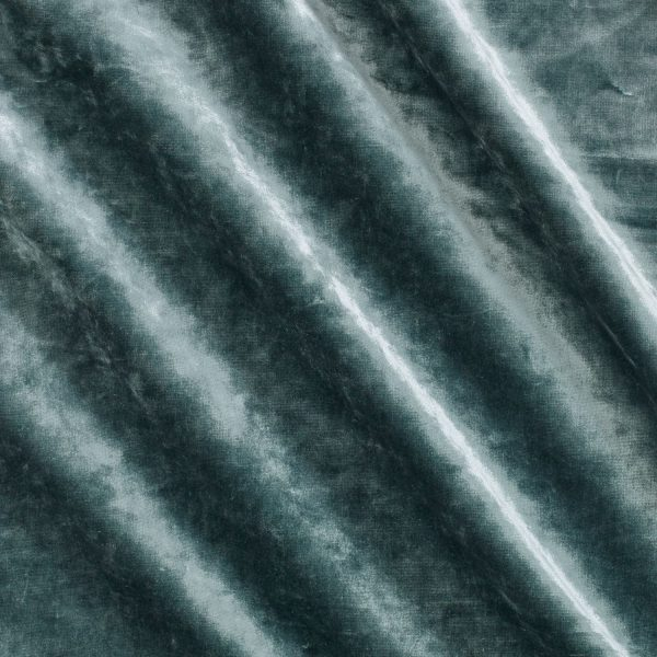 Draperii catifea Carnaby Blue Stone