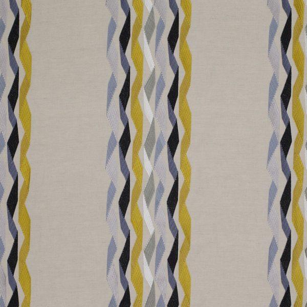 Draperii Carnival Stripe Yellow