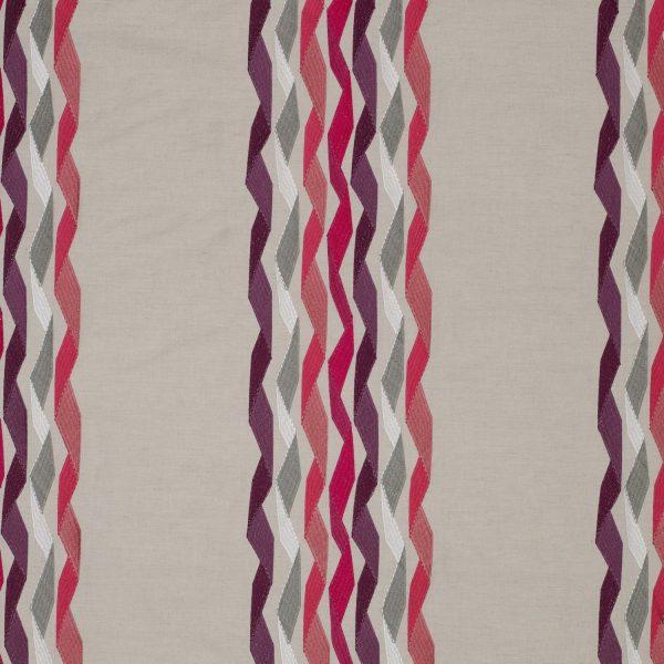 Draperii Carnival Stripe Fuchsia