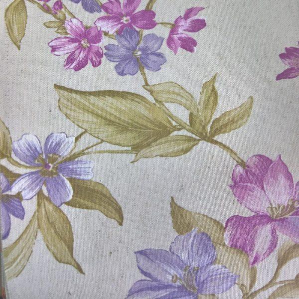 Draperii cu model floral Lanzarote Purple