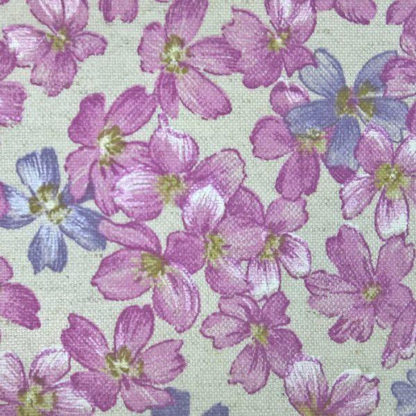 Draperii cu flori Livorno Purple