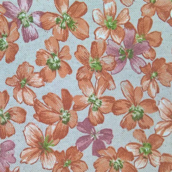 Draperii cu flori Livorno Terra