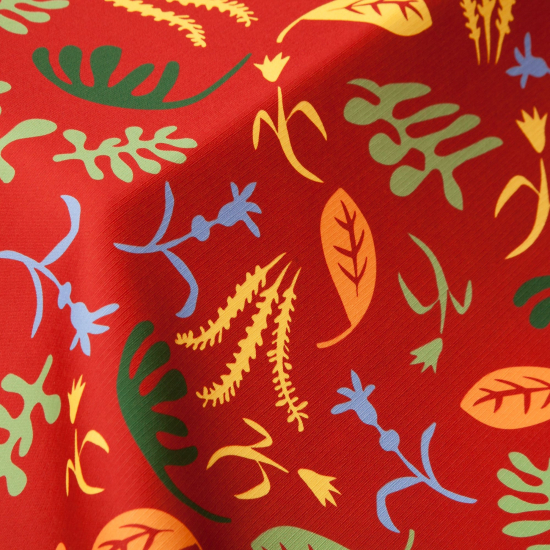 Material textil outdoor ignifug Matiscal Rojo
