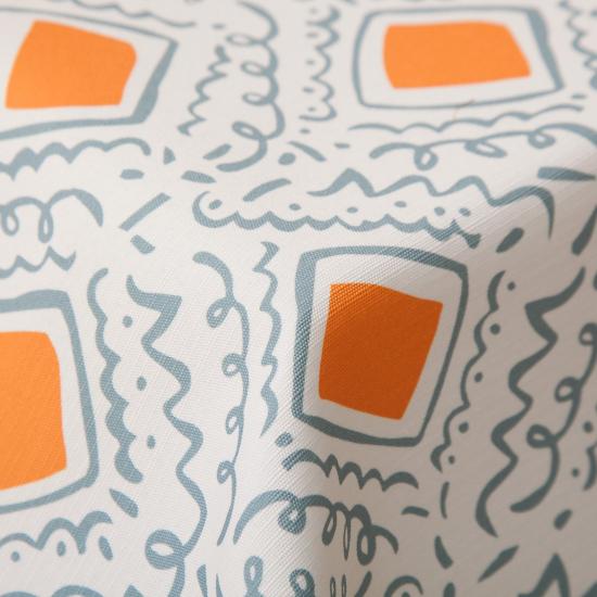 Material textil ignifug pentru exterior Saler Blanco