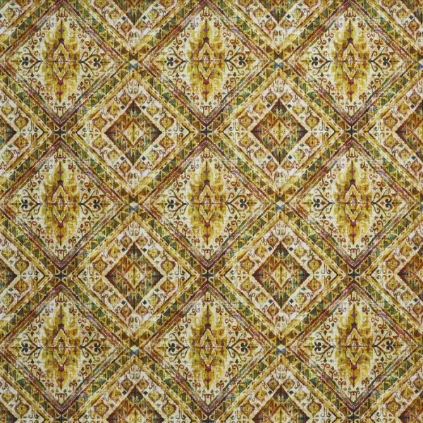 Material tapiterie cu model geometric Banyan Spice