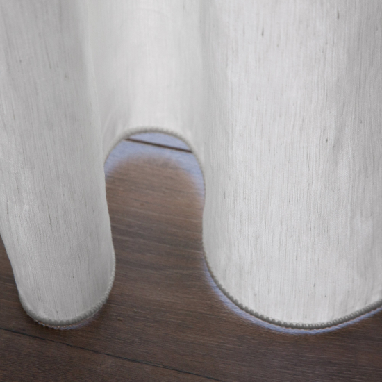 Perdele texturate Wild Blanco