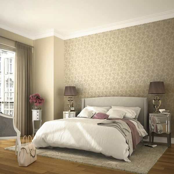 tapet cu model floral Trianon 51138