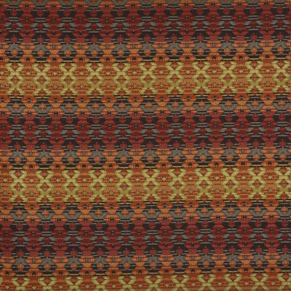 Material tapiterie cu motive geometrice Zebedee Picante