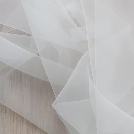 Perdele ignifuge Cristal Blanco