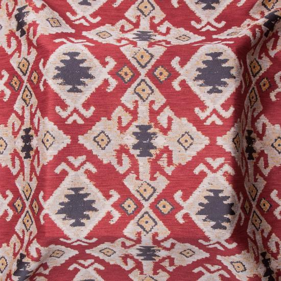 Material tapiterie cu motive etnice Baku Rioja